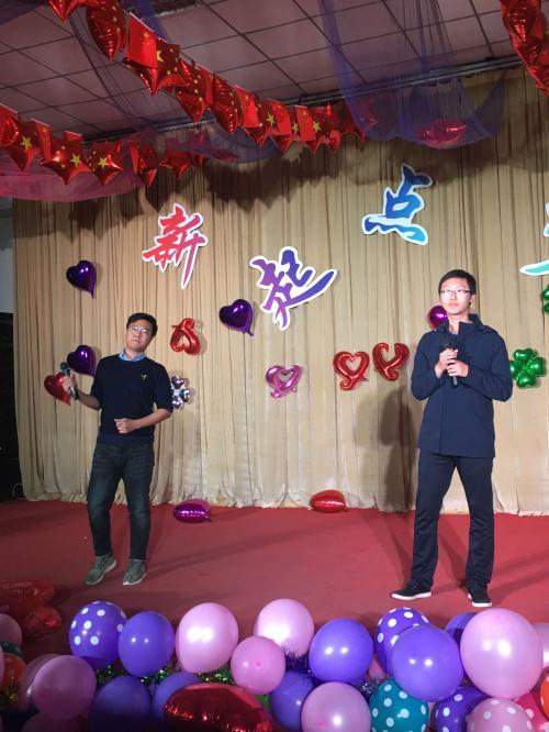 秦汉老师、李明泽老师演唱歌曲《故乡》